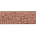 Ruban fantaisie pailleté imitation cuir 10 mm Copper Brown Glitter x1.2m
