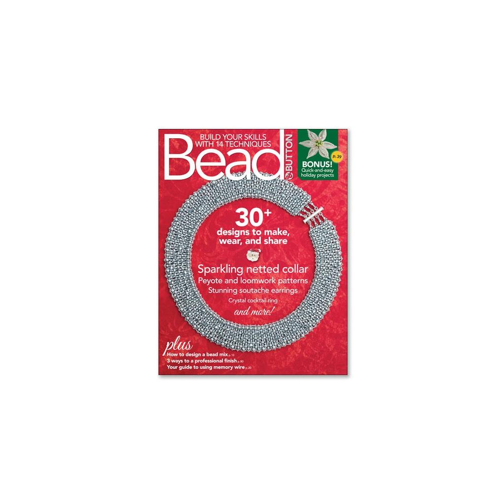 magazine bead button d cembre 2017 en anglais perles co. Black Bedroom Furniture Sets. Home Design Ideas