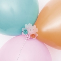20 attaches pour ballons de baudruche Yey - Let's Party
