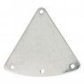 Intercalaire/Chandelier triangle 3 trous 27 mm en Acier inox x4