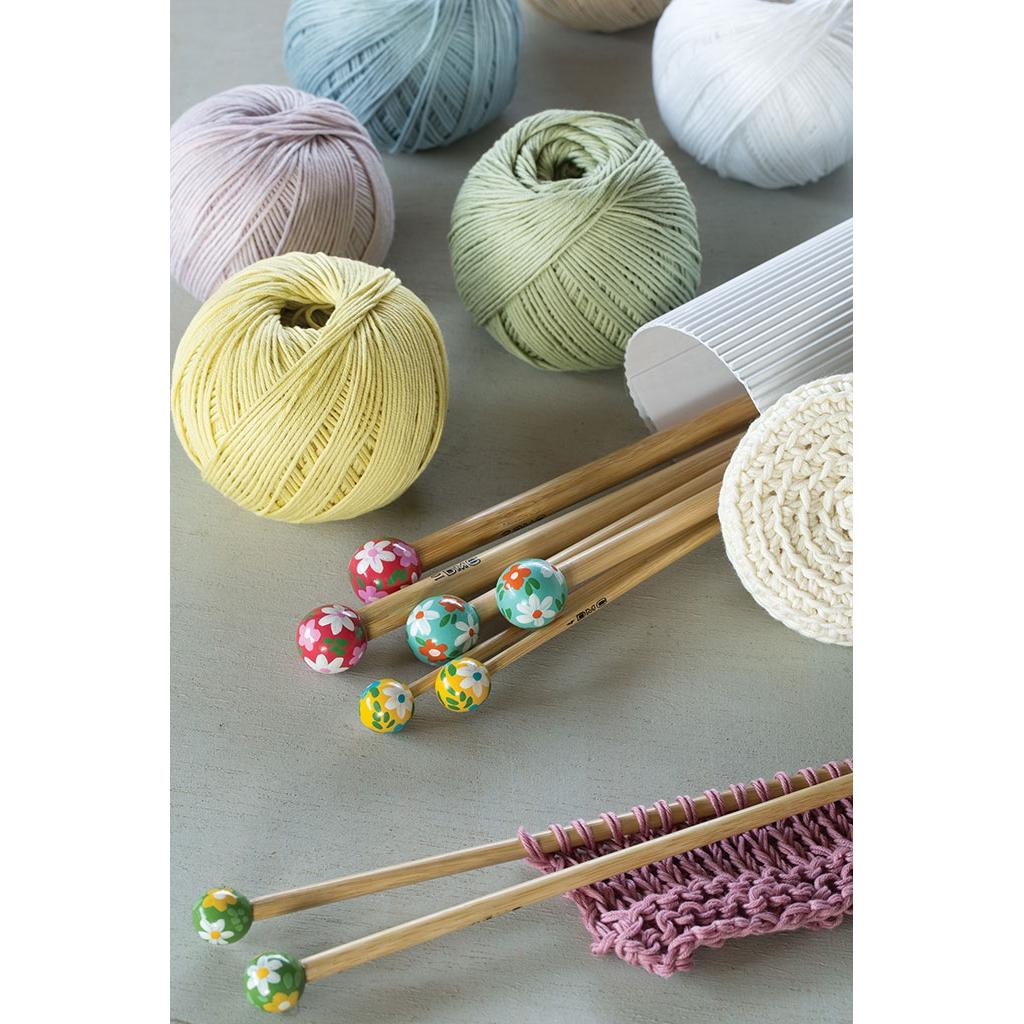 Aiguilles tricoter grande longueur en bambou 3 5 mm x40 cm dmc perles co - Aiguille a tricoter grande longueur ...