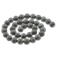 Perles rondes Druzy Agate  8 mm Silver x10