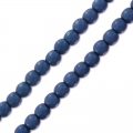 Perles rondes 2 mm Pastel Montana Blue x150
