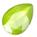Cabochon Swarovski 4320 14x10 mm Crystal Lime x1