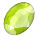 Cabochon Swarovski 4127 30x22 mm Crystal Lime x1