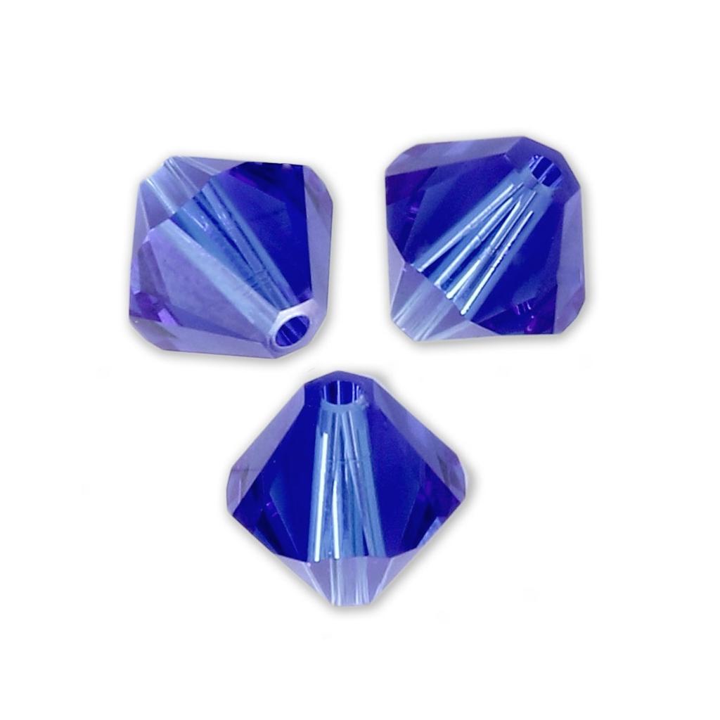 LIME 10 perles Toupies 3mm cristal Swarovski