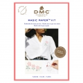 Kit DMC - Broderie point de croix - Magic Paper - Fleurs