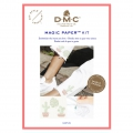 Kit DMC - Broderie point de croix - Magic Paper - Cactus
