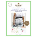 Kit DMC - Broderie traditionnelle - Magic Paper - Fruits