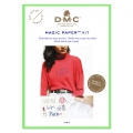 Kit DMC - Broderie traditionnelle - Magic Paper - Paris