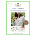 Kit DMC - Broderie traditionnelle - Magic Paper - Insectes