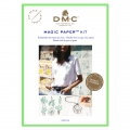 Kit DMC - Broderie traditionnelle - Magic Paper - Cactus