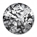 Cabochon Swarovski 1122 Rivoli 12 mm Crystal Black Patina x1