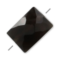 Onyx Noir facetté rectangle 5x7 mm x1
