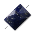 Lapis Lazuli facetté rectangle 5x7 mm x1