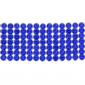 Swarovski Crystal Mesh 40001 7 rangs 19 mm Majestic Blue x5cm
