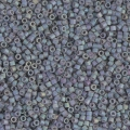 Miyuki Delicas 11/0 DB1063 - Mat Metallic Blue Slate Gold Iris x8g