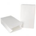 Sac en papier Yey - 120x210x60 mm - Let's party - Blanc x10