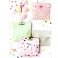 DIY Pochette en papier Yey - 120x185 mm - Let's party - Pastel x20
