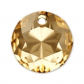 Pendentif Swarovski 6430 14 mm Crystal Golden Shadow x1