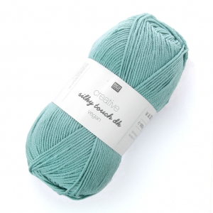 Laine Creativ Silky Touch dk - Rico Design - Turquoise 006 x 100g