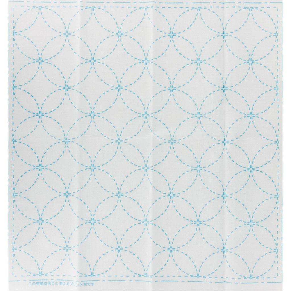 Coupon de tissu pour broderie Sashiko - 31x31 cm - Blanc Les 7 ...