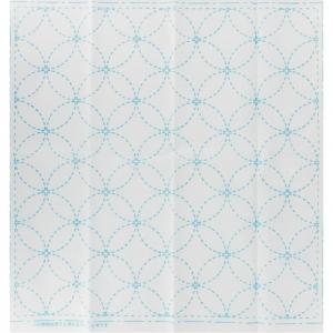 Coupon De Tissu Pour Broderie Sashiko 31x31 Cm Blanc Les 7