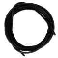 Cordon queue de rat polyester 1.5 mm Noir x1m