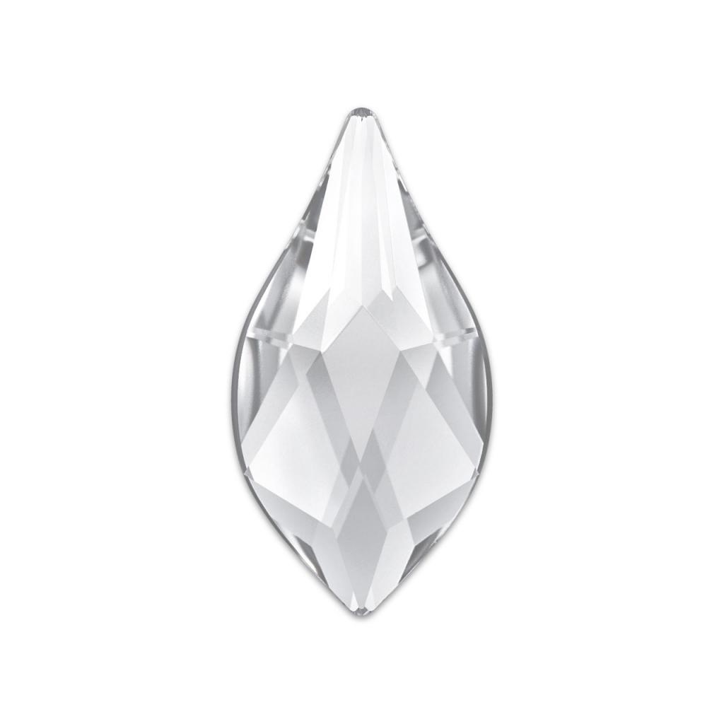Strass à coller Flame Swarovski 2205 7,5 mm Crystal