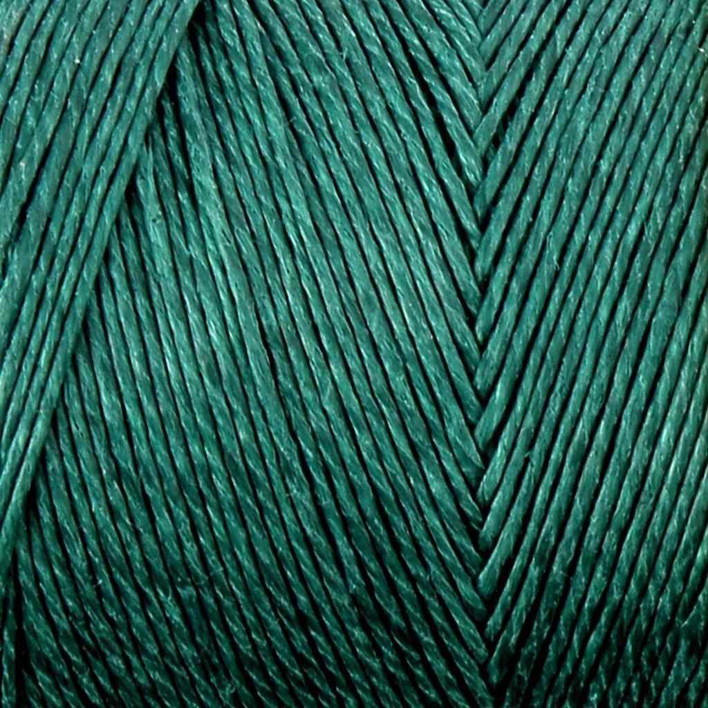 Fil De Lin Cire Pour Bijoux Micro Macrame 0 7 Mm Couleur Bleu Vert N