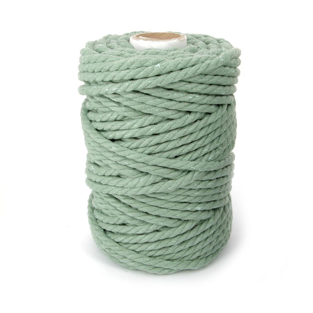 bobine de cordon en coton pour macram 4 5 mm vert avocat. Black Bedroom Furniture Sets. Home Design Ideas