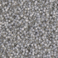Miyuki Delicas 11/0 DB1455 - Silver Line Light Smoke Opal x8g