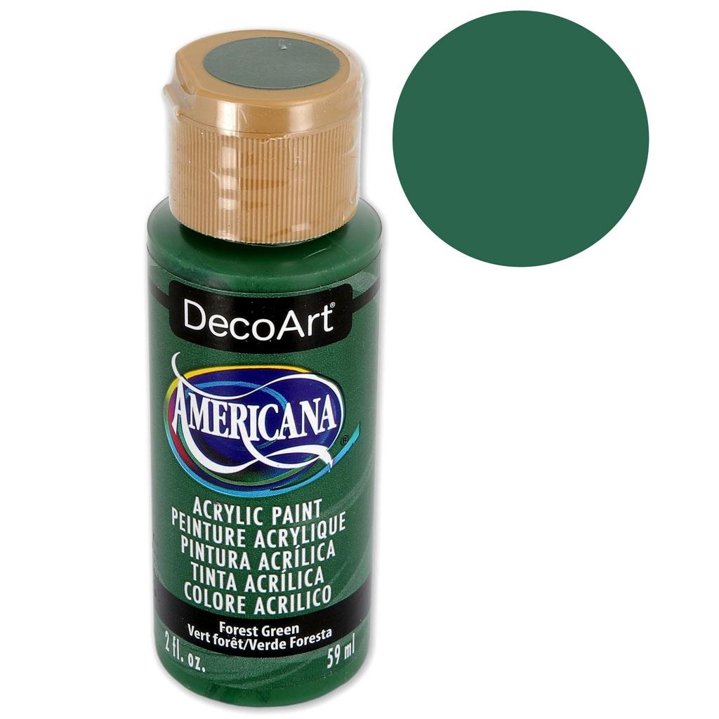 Peinture Acrylique Haute Qualité Decoart Americana Vert Forêt X