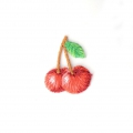 Ecusson Thermocollant Fruit 21x26.5 mm Cerise x1