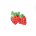 Ecusson Thermocollant Fruit 21x23 mm Fraise x1