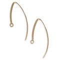 Boucles d'oreilles fil 29 mm en Gold filled 14 carats  x2