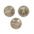 Rondes Globe Swarovski 5028/4 10 mm Crystal Golden Shadow x4