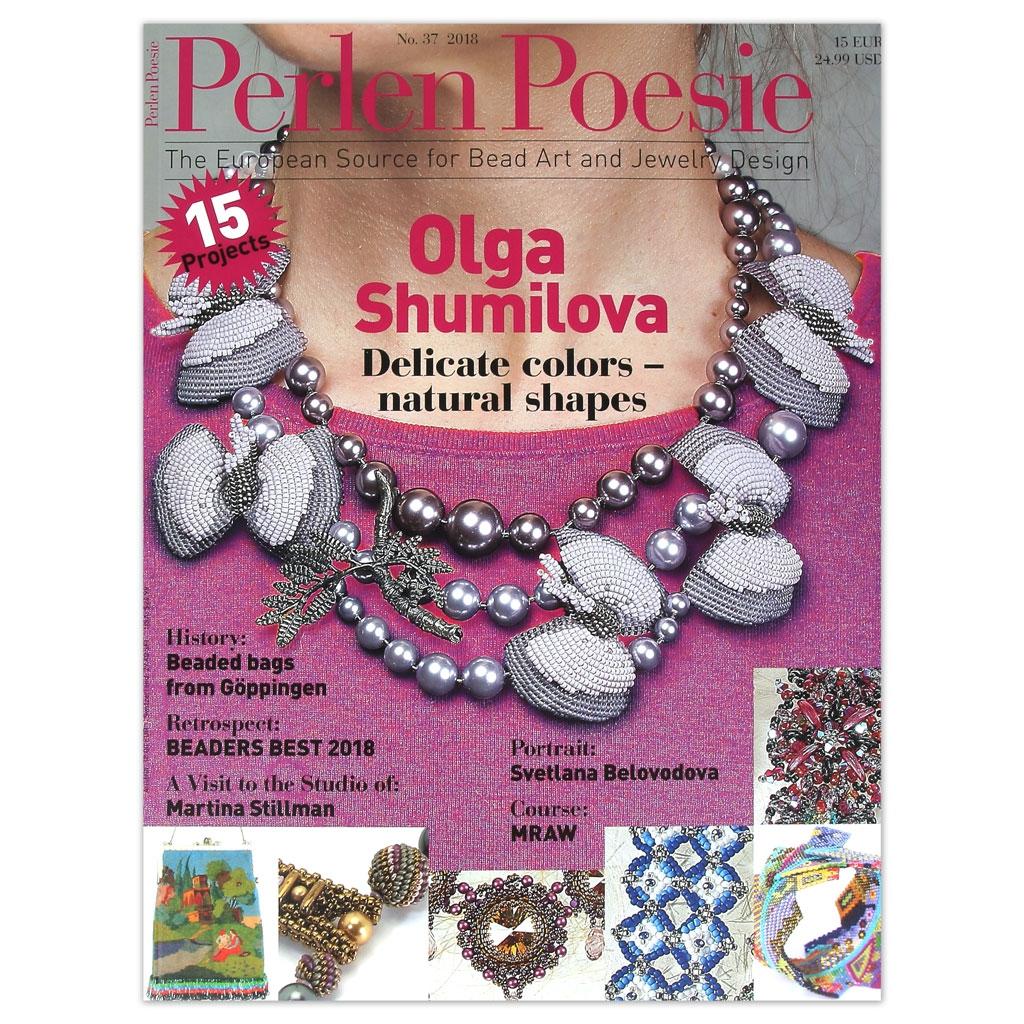 perlen poesie n 37 magazine allemand traduit en anglais perles co. Black Bedroom Furniture Sets. Home Design Ideas