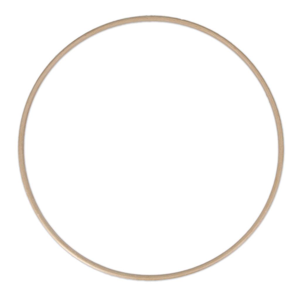 grand cercle en bois de h tre pour attrape r ve et d coration 30 cm x1 perles co. Black Bedroom Furniture Sets. Home Design Ideas