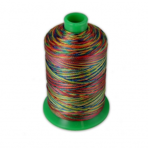 Fil en polyester Vega taille 20 Multicolore n°888 x300m