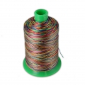 Fil en polyester Vega taille 40 Multicolore n°888 x600m
