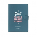 Agenda Journalier 2018 2019 Mr. Wonderful - Tout ce que je promets de Terminer