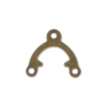 Intercalaires 1 pont 9,6x8,5 mm bronze x20