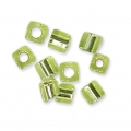 Cubes Miyuki 1.8 mm SB18-0014 - Chartreuse Silver Lined x10g