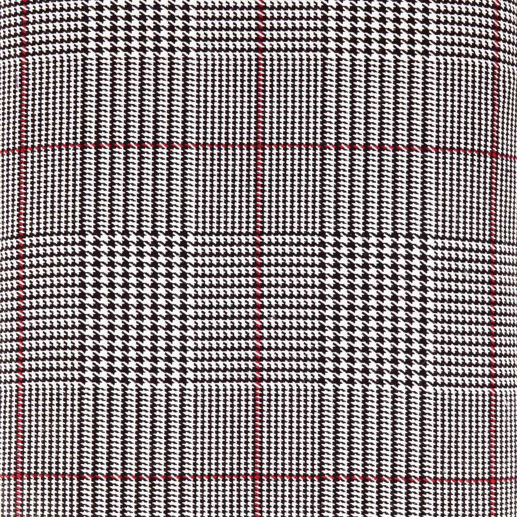 tissu gabardine stretch prince de galles noir blanc. Black Bedroom Furniture Sets. Home Design Ideas