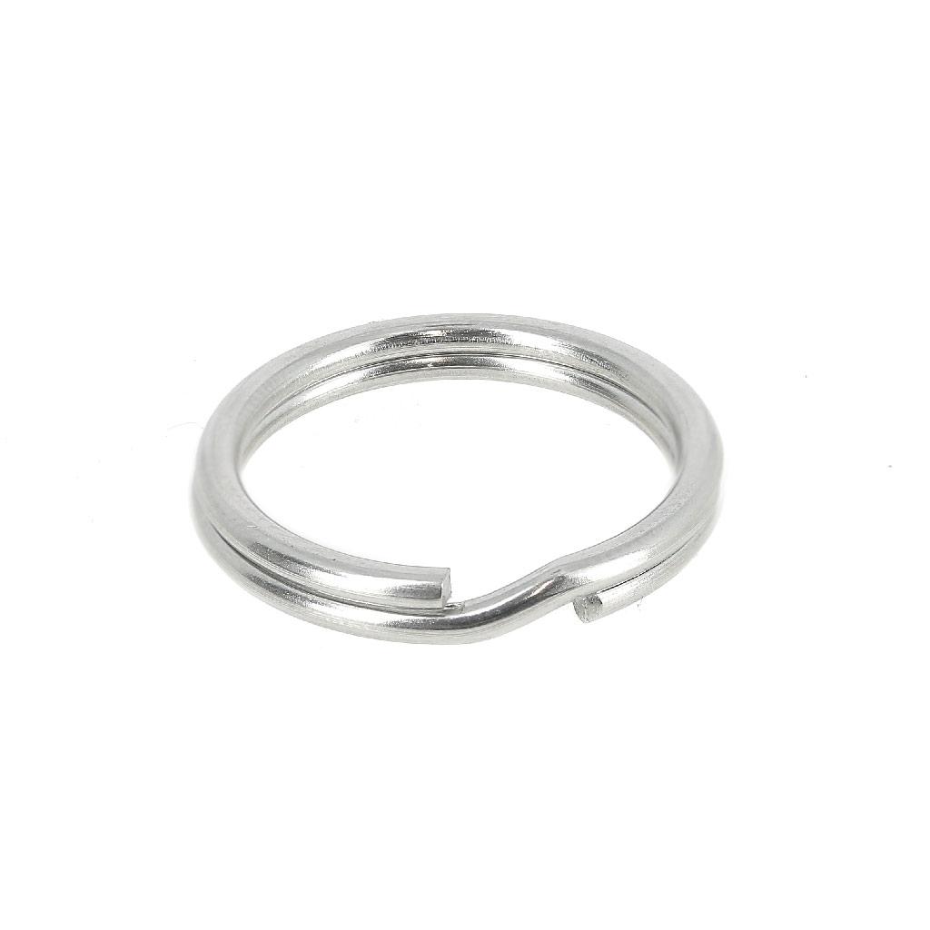 Fabriquer Porte Clé Facile porte clefs anneau 20 mm en acier inox x1