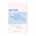 Aiguilles à perler Miyuki extra fines x6