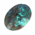 Cabochon ovale 18x13 mm Chrysocolla