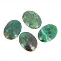 Cabochon ovale 40x30 mm Chrysocolla