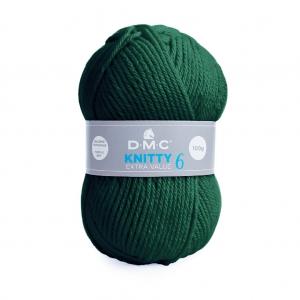 7d3f661dd121d DMC Laine Knitty 6 - Vert Sapin (n°839) x 137m - Perles & Co